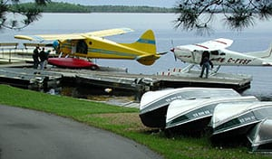 Fly-in canoe outfitting