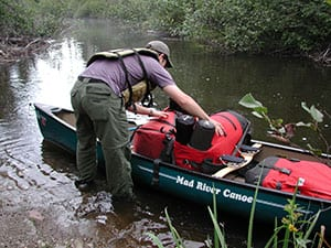 Light canoes, the right gear expressly designed for BWCA canoeing