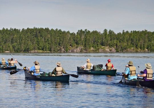 Boy Scouts going on BWCA canoe trip