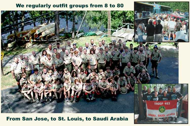 Boy Scout High Adventure Groups