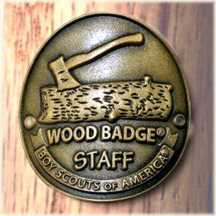 High Adventure staff wood badge